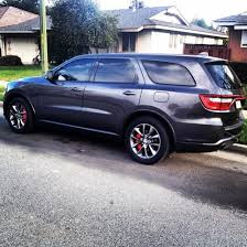 2014 dodge durango rt accessories pics caliper covers on my 14 rt page 4