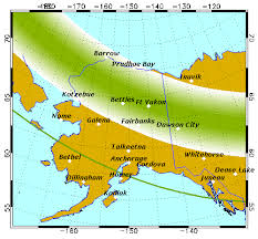 when to see northern lights in alaska aurora forecast geophysical institute