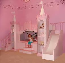 Bunk Bed With Slide Excellent Castle Themed Bunk Bed With Slide Bedroom