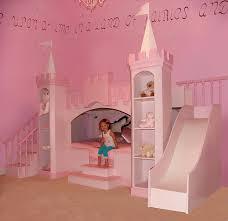 Bunk Bed Slide Excellent Castle Themed Bunk Bed With Slide Bedroom