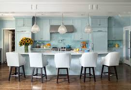 blue kitchens cottage kitchen sherwin williams tidewater