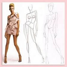 how to draw fashion models step by step fashion models