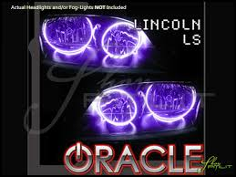 03 06 lincoln ls led colorshift halo rings headlights bulbs