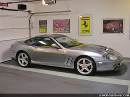 575m maranello 2003 575m maranello sitting in the garage