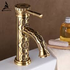 Brass Bathroom Faucet by Online Get Cheap Vintage Bathroom Faucet Aliexpress Com Alibaba