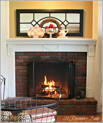 Fireplace Surrounds Lowes by 21 Rosemary Lane Our New Fireplace Mantel Thank You Mr