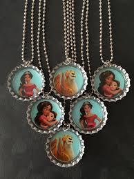 bottle cap necklaces wholesale new elena ofavalor bottle cap party favors 6 add more for 2