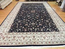 12x18 Area Rug Tabriz All Over 100 Wool Area Rugs Ebay