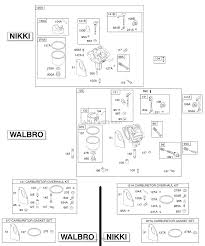 briggs and stratton 286707 0441 01 parts diagram for carburetor