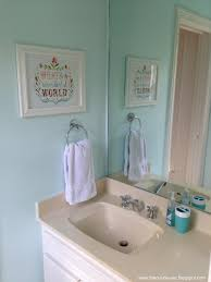 the cul de sac before and after kids bathroom light bright airy
