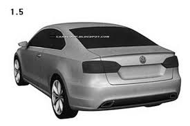 volkswagen jetta coupe volkswagen files design patents for jetta coupe
