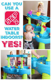 step 2 rain showers splash pond water table can you use a step2 water table indoors yes plus a giveaway
