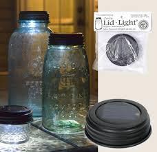 Indoor Solar Lights by Solar Powered Mason Canning Fruit Ball Jar Led Lid Light Rustic
