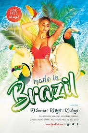 download the made in brazil free psd flyer template for photoshop