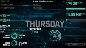 space themes for windows 8 1 futuristic hacker theme 2 for windows 10 8 1 8 7 preview youtube