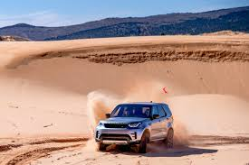 land rover desert first drive 2017 land rover discovery exhausted ca