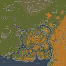 Gps Map Steam Community Guide Map U0027s Screenshot U0027s Of Unturned