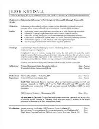 Flight Attendant Resume Samples by So Your Flight Attendant Resume Sample 6pack