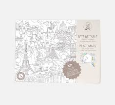 coloring placemats placemat coloring pages city map