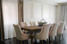 Restoration Hardware Dining Room Restoration Hardware Inspired Diy Wainscoting Chair Rail