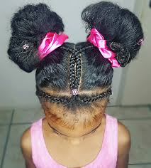 cute buns natural hairstyles for kids janelle u0027s hairstyles