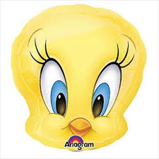 tweety bird foil balloon 18