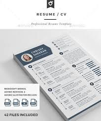 10 all time best premium simple u0026 infographic resume cv template