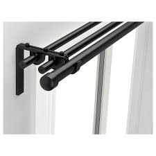 Curtain Rod Brackets R繖cka Hugad Curtain Rod Combination Ikea