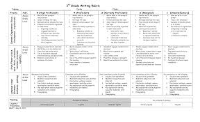 3rd grade writing paper 4 best images of 3rd grade rubrics printable 3rd grade paragraph 5th grade writing rubric