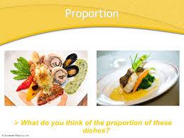 proportion cuisine chapter 44 food presentation chapter 44 food presentation ppt