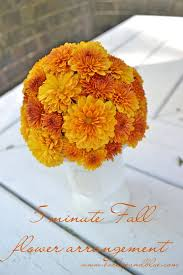 fall flower arrangements a fall flower arrangement using ina garten s technique