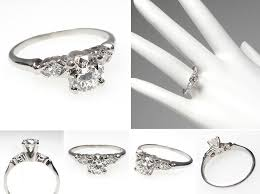 simple vintage engagement rings engagement rings vintage simple 5 ifec ci