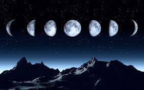 moon phase names in the southern hemisphere