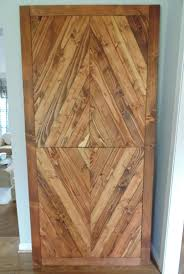 Wood Barn Doors by Hand Made Solid Reclaimed Wood Barn Doors Diamond Mosaic By