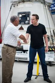 bolden musk and the dragon nasa