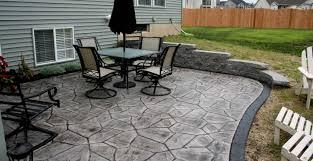 patio u0026 pergola concrete paver ideas awesome cement patio pavers