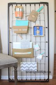Wall Organizer Office Baby Crib Spring Wall Organizer The Salvaged Boutique Takes An