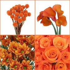 fall flowers for wedding orange you glad it u0027s fall fiftyflowers the blog