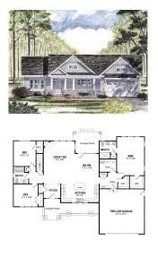 craftsman floorplans cottage country craftsman ranch southern traditional house plan