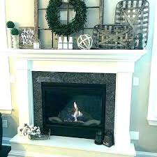decor for fireplace mantle without fireplace how to use faux fireplace in home decor