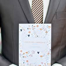formal wedding programs do we need a wedding program brides