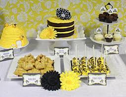 bumble bee baby shower theme creative baby shower ideas