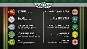 all 10 flavors at wingstop yum favorite places spaces