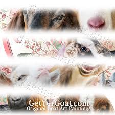 Goat Decor Getyergoat For Goat Lovers Goat Lovers Tshirts Merchandise