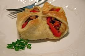 flaky vegetable squares or vegetables en croute easy recipes for