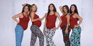 Kmart Halloween Costumes Girls Dancing Pregnant Women Shine Kmart U0027s Holiday Ad Huffpost