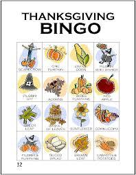 thanksgiving bingo makingfriendsmakingfriends