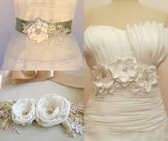 Flower Belts - flower belt and sash ideas for brides u2013 weddceremony com
