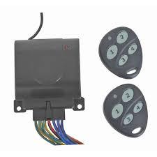 4 channel wireless remote control relay with 2 key fobs jaycar