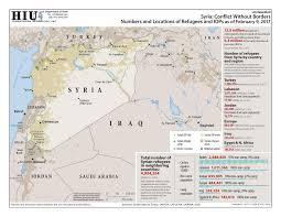 Syria Conflict Map by Syria Conflict Without Borders Numbers And Locations Of